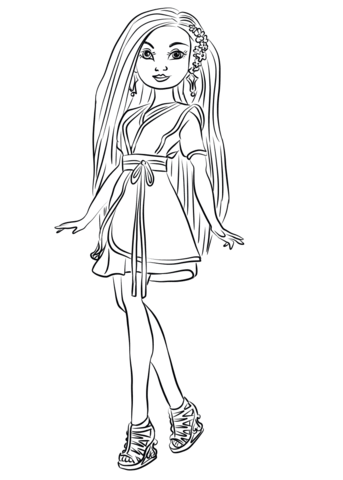Lonnie From Descendants Wicked World