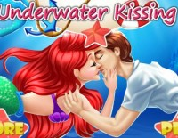 Ariel And Prince Underwater Kissing