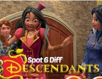 Descendants Spot 6 Diff