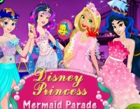 Disney Princess Mermaid Parade