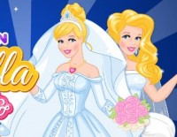 Now And Then Cinderella Wedding