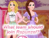Rapunzel's Team Choice